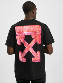 Off-White T-Shirt Marker S/S Over schwarz