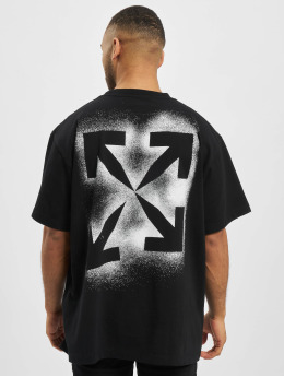 Off-White T-Shirt Stancil Over schwarz