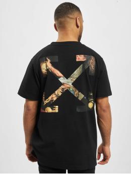 Off-White T-Shirt  schwarz