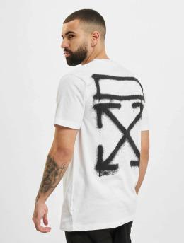 Off-White T-Shirt Spray Marker weiß