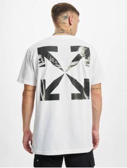 Off-White T-Shirt Carav Arrow S/S Slim white