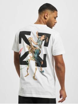 Off-White T-shirts Pascal Skeleton S/S hvid