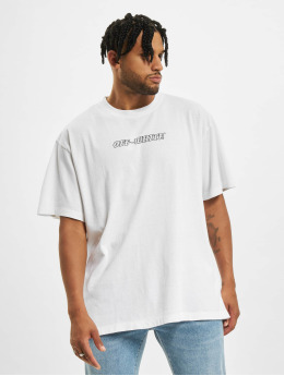 Off-White T-shirts Pascal S/S Over hvid
