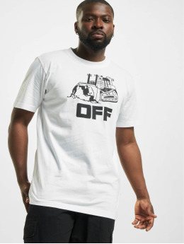Off-White T-Shirty World Caterpilla bialy