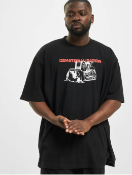 Off-White T-Shirty Dematerial  czarny