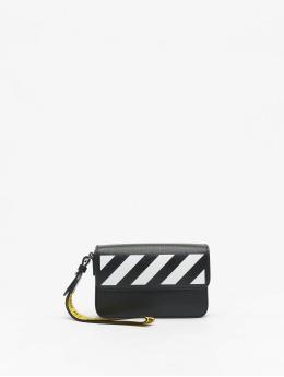 Off-White Tasche Saffiano Clutch schwarz