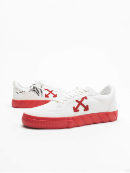Off-White Tennarit Low Vulcanized Suede Leather valkoinen