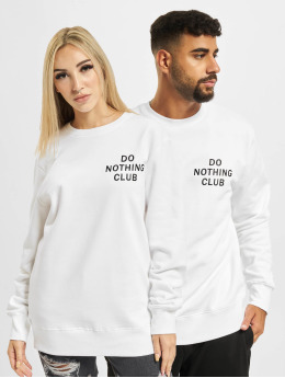 On Vacation Pullover Do Nothing Club  white