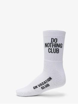 On Vacation Socken Do Nothing Club  weiß