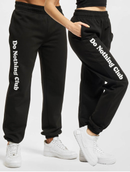 On Vacation Sweat Pant Do Nothing Club black