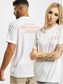 On Vacation T-Shirt 100% Goodlife weiß