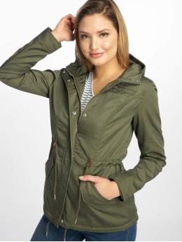 Only Демисезонная куртка onlNew Lorca Spring Canvas оливковый