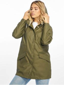 Only Демисезонная куртка onlFine  оливковый