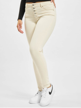 Only Облегающие джинсы onlBlush High Waist  бежевый