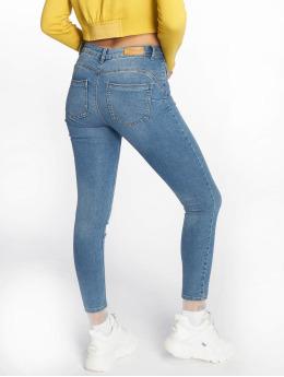 Only Облегающие джинсы onlDaisy Pushup Noos синий