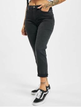 Only Облегающие джинсы onlErica Life Mid St Ankle черный