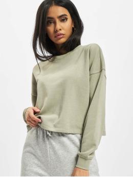 Only Пуловер Onlbless Cropped  зеленый