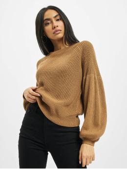 Only Пуловер onlLaysla Life коричневый