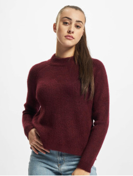 Only Пуловер Jade  красный
