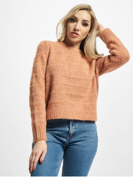 Only Пуловер Celina  оранжевый