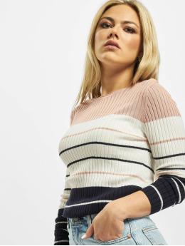 Only Пуловер onlNatalia Stripe розовый
