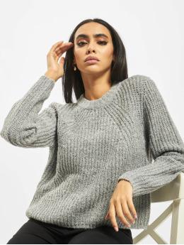 Only Пуловер onlFiona Knit серый