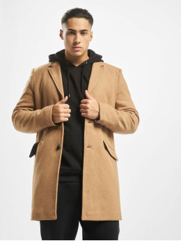 Only & Sons Пальто onsJulian Solid Wool коричневый