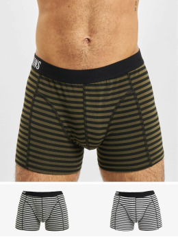 Only & Sons Boxershorts onsJan Stripe 3-Pack weiß