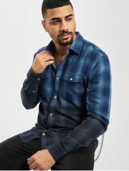 Only & Sons Camisa onsAksel Real Indigo Dip Dye azul