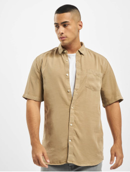 Only & Sons Camisa onsAtlas Life Dyed Tencel beis