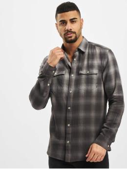Only & Sons Camisa onsAksel Real Indigo Dip Dye gris