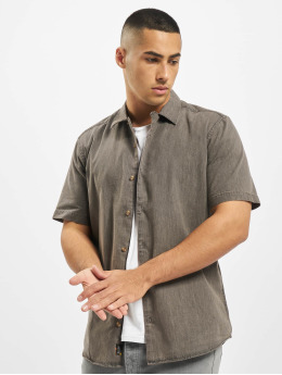 Only & Sons Camisa onsAugust Chambray gris
