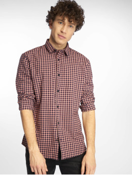 Only & Sons Camisa Onstony Ls Yd Check rojo