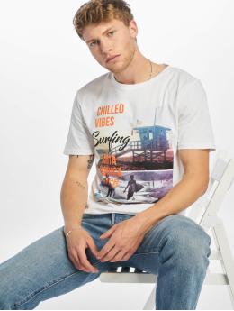 Only & Sons Camiseta onsLayrence Camp blanco