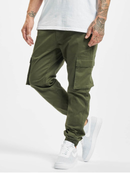Only & Sons Cargohose onsCam Stage Cuff grün
