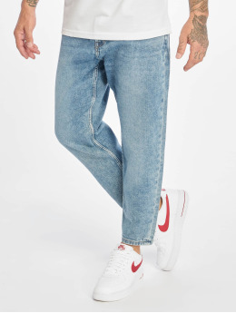Only & Sons Carrot Jeans onsAvi Beam Crop Washed niebieski