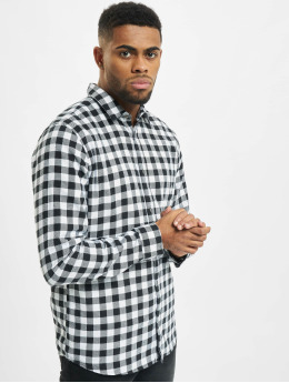 Only & Sons Chemise onsGudmund Small Check blanc