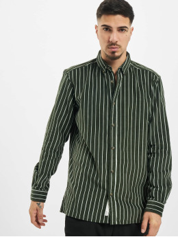 Only & Sons Chemise onsEdward Striped Corduroy vert
