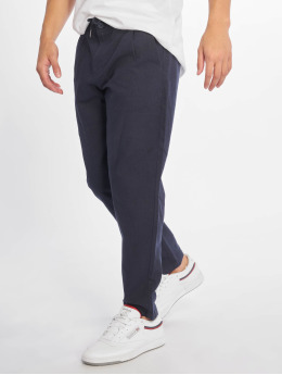 Only & Sons Chino onsLeo Linen Mix Noos blauw