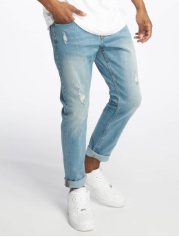 Only & Sons Gulrotbukser onSavi Damage Blue Tapered blå