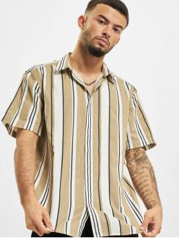 Only & Sons Hemd Ons Ketan Life Slub Stripe beige