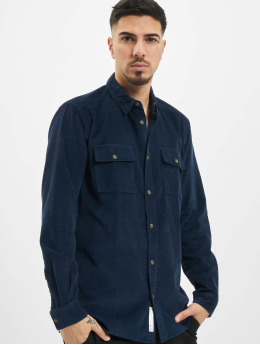 Only & Sons Hemd onsEdward Solid blau