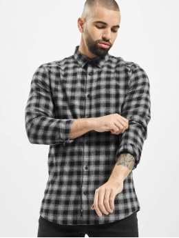 Only & Sons Hemd onsEmil Flannel Check grau