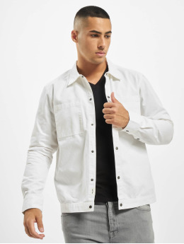 Only & Sons Hemd onsCris Herringbone Twill Overshirt weiß