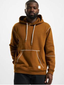 Only & Sons Hoodies Onsfletcher Stitch brun