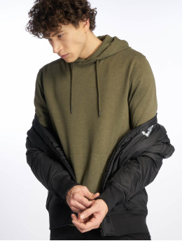 Only & Sons Hoodies Onsbasic olivový