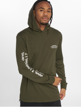 Only & Sons Hoodies WF Dean olivový