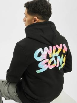 Only & Sons Hoodies onsBatik sort
