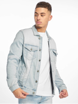 Only & Sons Jean Jakker onsCoin Trucker Denim blå