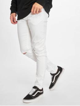 Only & Sons Jean skinny onsWarp Crop Knee Cut blanc